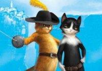 Кот в сапогах с подружкой Кисой Мягколапкой