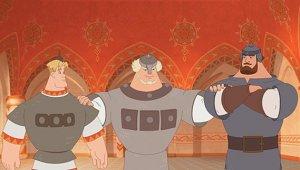 Мультфильмы про богатырей